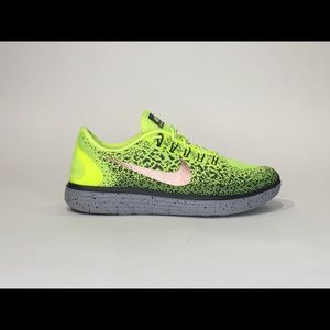 NIKE FREE RN DISTANCE SZ 8 ATHLETIC RUNNING SHOES